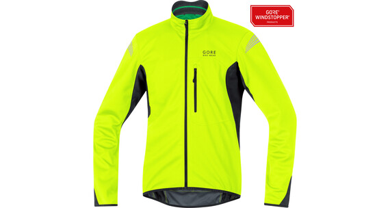 GORE BIKE WEAR Element WS SO Jas Heren geel